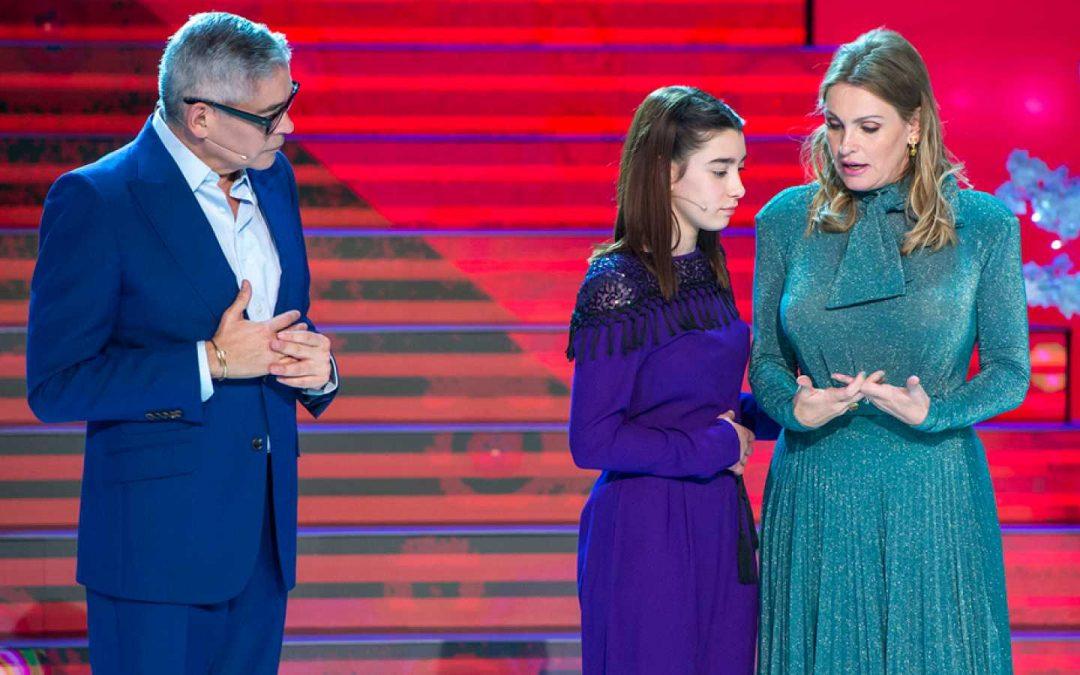 "LUCIA ESPAÑA EN LA SEMIFINAL DE ""PRODIGIOS"" TVE1"