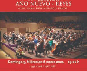 Presentación de los conciertos de Reyes y Año Nuevo de la Orquesta Sinfónica de Torrevieja